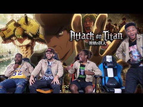 """EREN """"THE OWL"""" KRUGER! Attack on Titan 3x20 REACTION/REVIEW"""