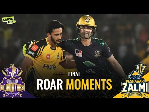 PSL 2019 Final: Peshawar Zalmi vs Quetta Gladiators | ROAR MOMENTS