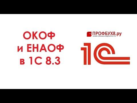 Классификатор ОКОФ и ЕНАОФ в 1С 8.3 - загрузка и установка