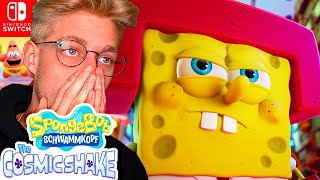 Das NEUE SpongeBob Spiel für Nintendo Switch! SpongeBob Schwammkopf The Cosmic Shake Trailer Deutsch