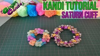 How To Make A Saturn Cuff - [Kandi Tutorial] | @GingerCandE
