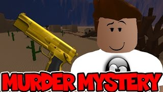 Roblox   MURDER MYSTERY - THE BEST SHERIFF IN TOWN!
