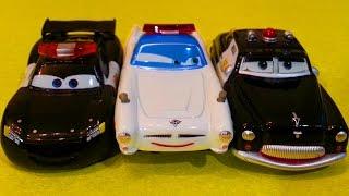 Тачки Мультики про машинки Маквин Полицейская машина Все серии подряд #4