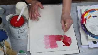 Mixing Chalk Paint For Tints