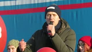 А. Навальный в Новокузнецке  9  декабря 2017 г