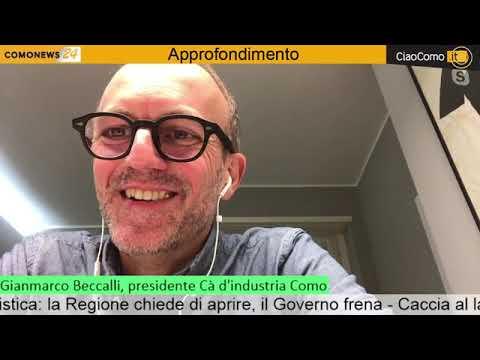 Notizie di Gianmarco Beccalli - CiaoComo
