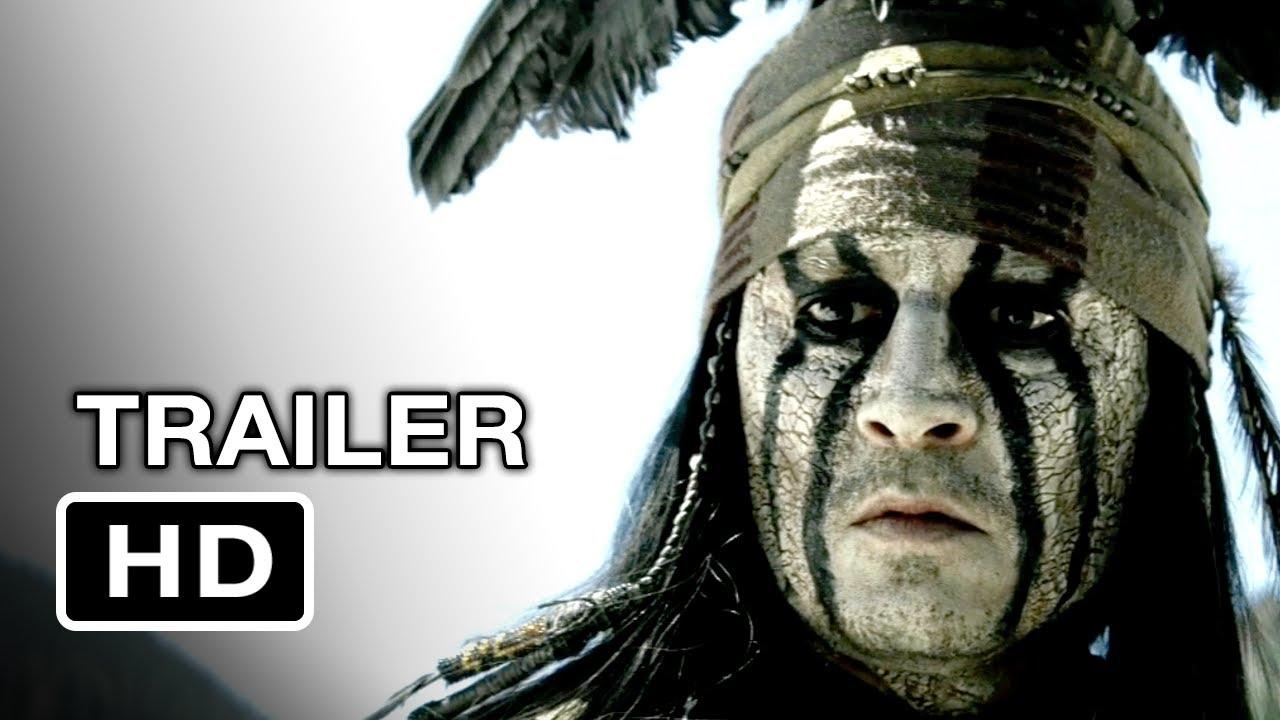 New Lone Ranger Trailer Looks Dope