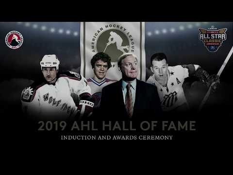 2019 AHL Hall of Fame Induction and Awards Ceremony