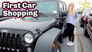 First Car Shopping! Test Driving Cars!