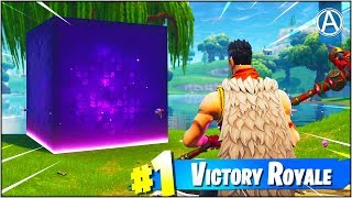 *NEW* Cube Event Happening NOW! (Fortnite Battle Royale Cube Heading To Loot Lake)