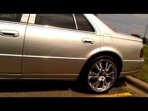 K R A Y Z I E Cadillac STS NICE RIMS AND GRILL !  Cadillac STS 1996-2001Northstar, V8