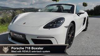 Video: Remus Sportauspuffanlage für Porsche 718 Boxster