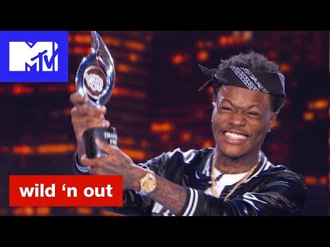 DC Young Fly Accepts Donald Trump's Impeachment Award 'Official Sneak Peek' | Wild 'N Out | MTV