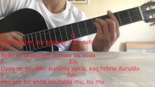 Ersay Üner - Tatlım Tatlım Gitar Dersi (cover)