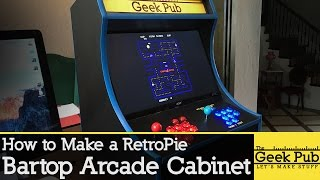 Build A RetroPie Bartop Arcade Cabinet With A Raspberry Pi