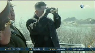 زعيم كوريا الشمالية يتعهد بوقف التجارب النووية والصاروخية