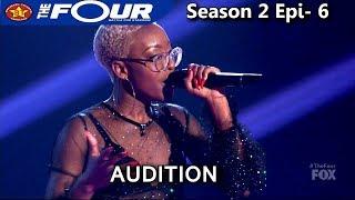 """Leah Jenea 17 year old sings """"Best Part""""  UNIQUE VOICE AMAZING Audition The Four Season 2 Ep. 6 S2E6"""