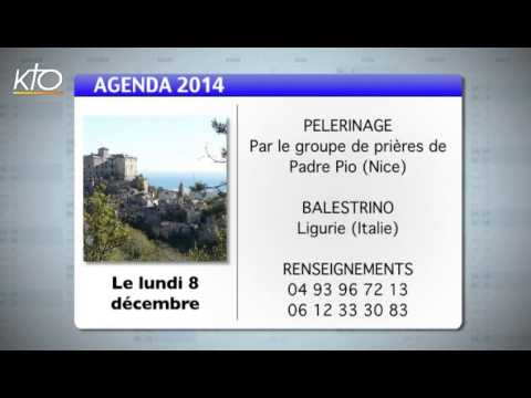 Agenda du 24 novembre 2014