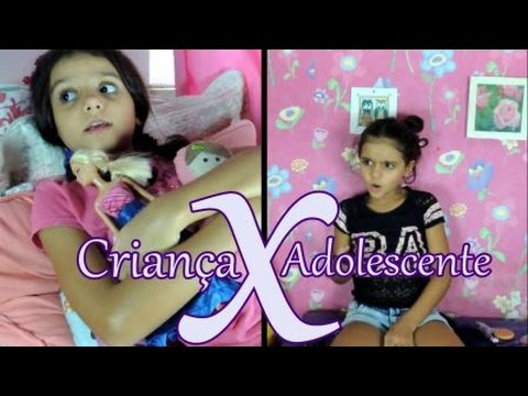 Criança X adolescente - Isabela Vaidosa