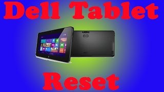 How To Factory Reset Windows Computer Tablet | Windows 8