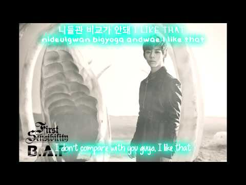 B.A.P - Check On [English subs + Hangul + Romanization]
