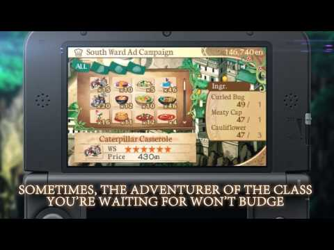 Видео № 1 из игры Etrian Odyssey 2 Untold: The Fafnir Knight [3DS]