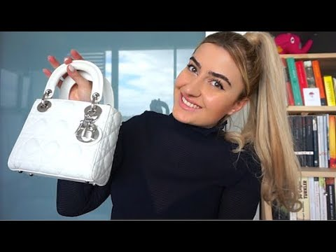WHAT'S INSIDE MY DIOR BAG + STYLE TIPS