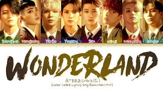 ATEEZ(에이티즈) 'WONDERLAND' (Color Coded Lyrics EngRomHan가사)