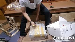Unboxing dji phantom 3 pro beli dari BL