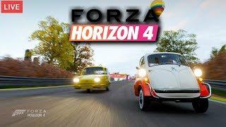 Carreras de Exhibición, Coches Abandonados y Ruletas en Directo | Forza Horizon 4