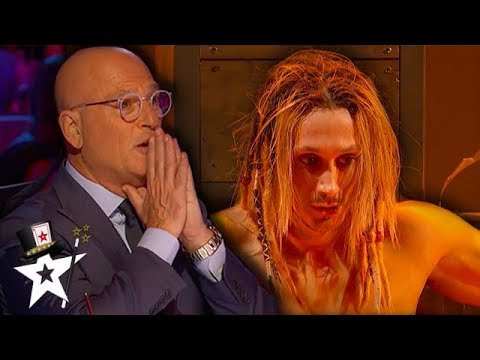Most Dangerous Act The Judges Has Ever Seen on America's Got Talent | Magicians Got Talent (видео)