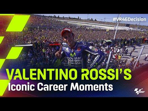 レジェンド「バレンティーノ・ロッシ」が2021年シーズン限りで引退を発表。動画で振り返るバレンティーノ・ロッシ