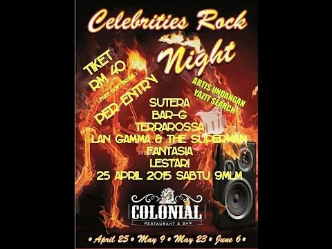 Promo Celebrities Rock Night 2015
