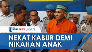 Demi Hadiri Pernikahan Anak, Tahanan Narkoba di Polresta Malang Nekat Kabur dari Lapas