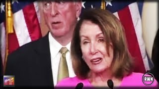 Pelosi Triggered During Her Speech And Starts Spasming, But All Eyes On Guy Right Behind Her