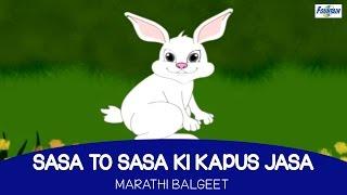 Sasa To Sasa Ki Kapus Jasa - Marathi Balgeet For Kids