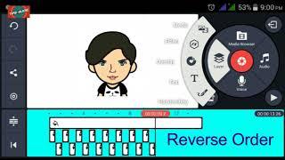 how to make speaking animation/cartoon/avatar Face on android Through Kinemaster   hindi/urdu