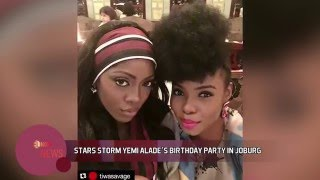 STARS STORM YEMI ALADE'S BIRTHDAY PARTY IN JOBURG - ELNOW