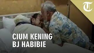 VIDEO: Viral Video Mantan Presiden Timor Leste Cium Kening BJ Habibie