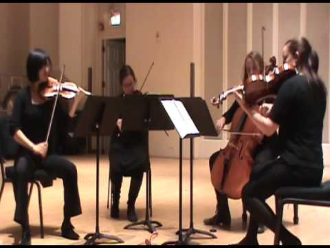 Haydn String Quartet Op. 77 No. 1, movement 1