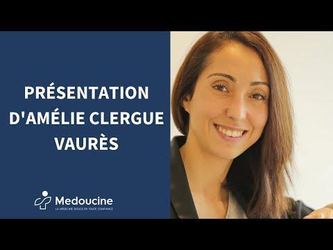 Présentation d'Amélie Clergue Vaurès