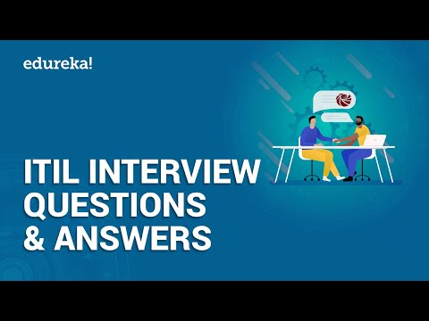Top 50 ITIL Interview Questions and Answers   ITIL® Foundation ...