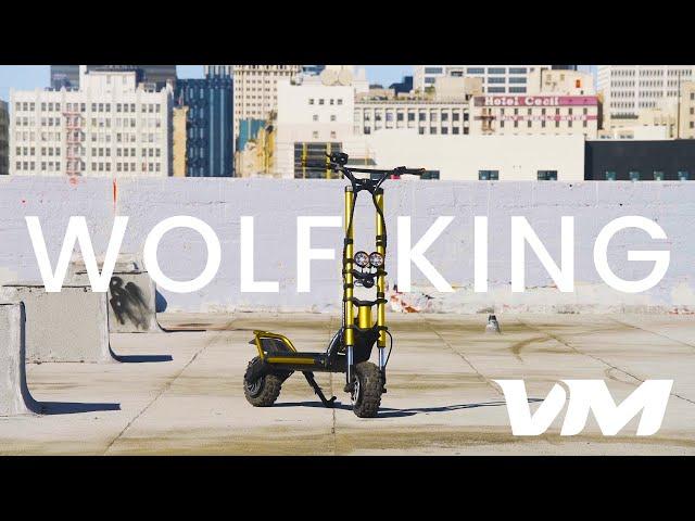 Kaabo выпустила скоростной внедорожный суперскутер Wolf King