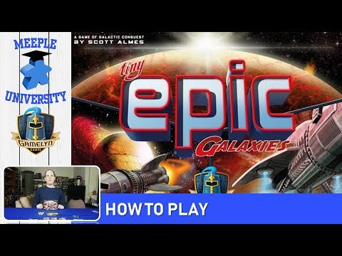 Tiny Epic Galaxies Board Game – How to Play & Setup in under 13 Minutes