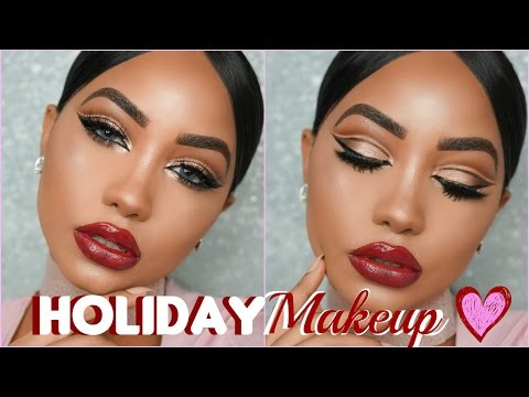Affordable Holiday Glam Makeup Tutorial + Surprise Giveaway | Melly Sanchez