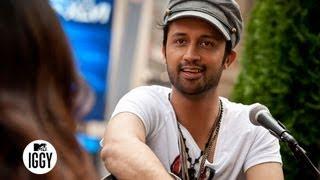 Pakistani Rockstar Atif Aslam's Language of Love — MTV Iggy