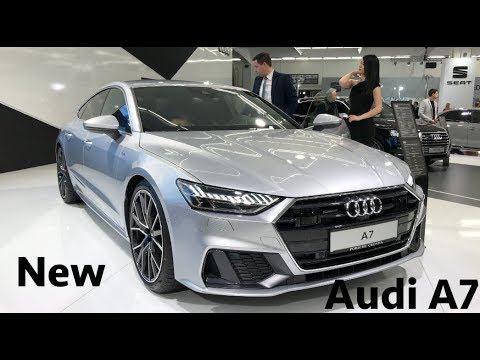 New Audi A7 S-line 2019 first look in 4K