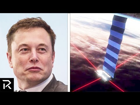 Elon Musk's $5 Billion Dollar Internet Project