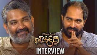 SS Rajamouli Interviews Krish About Gautamiputra Satakarni   Interesting Interview   TFPC