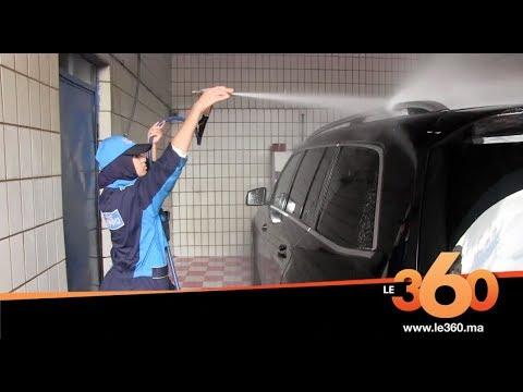 العرب اليوم - شاهد: أوّل فتاة تمتهن غسل السيارات في مدينة طنجة